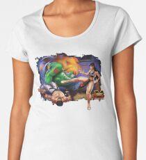 Street Fighter V Arcade Edition Women's Premium T-Shirt