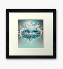 Baron Philip Von Glass Framed Print