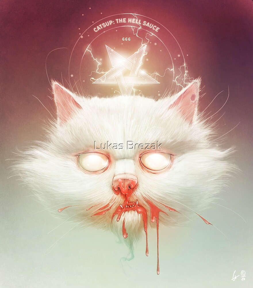 The Hell Kitty by Lukas Brezak