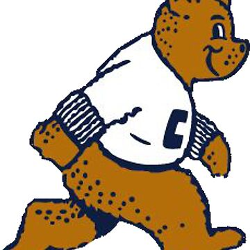 Retro Golden Bear by CollegeTown