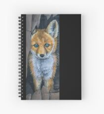 Little Foxy Spiral Notebook