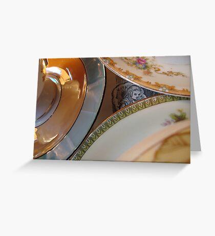Tea party Tilt Greeting Card
