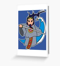 Susanoo, the God of Storms Greeting Card