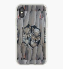 Two Little Squirrels  iPhone Case