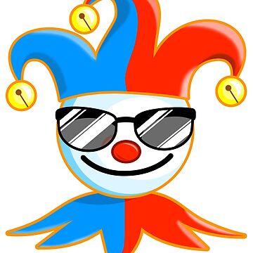 Joker Sunglasses Jester by pablomendoza