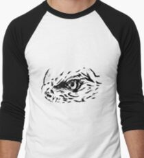 Sketch 77 - Eagle eye Men's Baseball ¾ T-Shirt