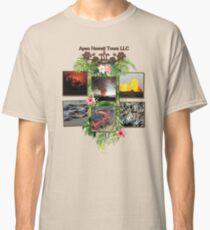 Apau Hawaii Tours - Lava Day Cycle Huddle Classic T-Shirt