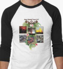 Apau Hawaii Tours - Lava Day Cycle Huddle Men's Baseball ¾ T-Shirt