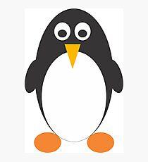Cute Penguin Clipart  Photographic Print