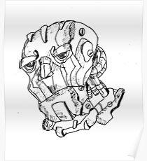 Sketch 79 - Mr Robot Poster