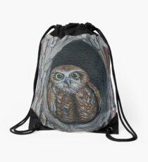 Owl Drawstring Bag