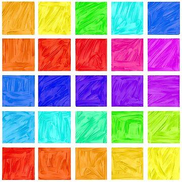 Rainbow Tiles by tmntphan