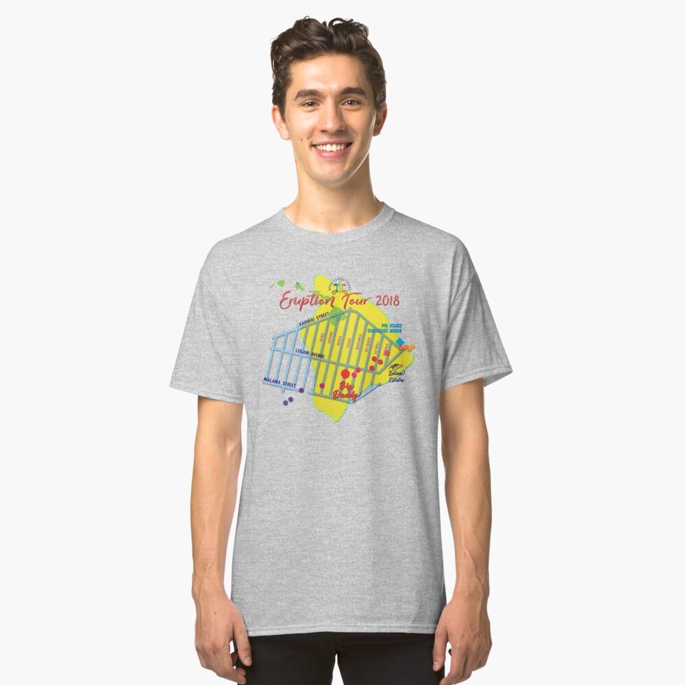 AHT - Concert Eruption Tour 2018 Design Classic T-Shirt Front
