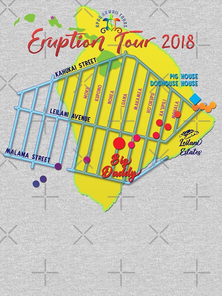 AHT - Concert Eruption Tour 2018 Design by ApauHawaiiTours