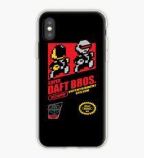 Super Daft Bros. iPhone Case