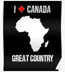 Funny USA United States Intentionally Wrong Canada Prank Poster