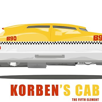 Korben's Cab from the Fifth Element Movie by Straedart