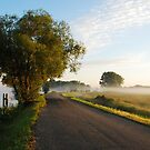 Going on an early-morning drive along the River Vecht by jchanders