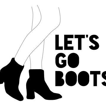 Let's Go Boots by qqqueiru