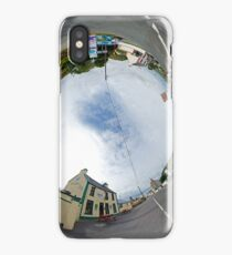 Glencolmcille - Biddy's Crossroads Pub(Sky-in) iPhone Case/Skin