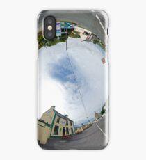Glencolmcille - Biddy's Crossroads Pub(Sky-in) iPhone Case