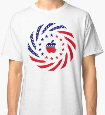 Apple Murican Patriot Flag Series Classic T-Shirt
