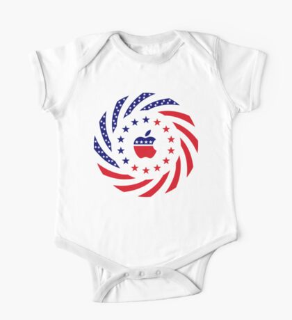 Apple Murican Patriot Flag Series Kids Clothes