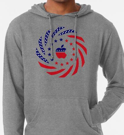 Apple Murican Patriot Flag Series Lightweight Hoodie