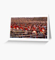 Ancient Phalanx  Greeting Card