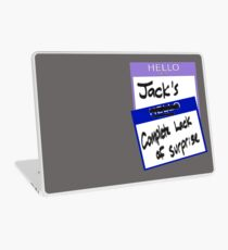 "Fight Club: ""I AM JACK'S COMPLETE LACK OF SURPRISE"" Laptop Skin"
