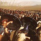 Ancient Phalanx  by Andrea Mazzocchetti