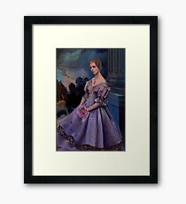Portrait of Carlotta Valdes Framed Print