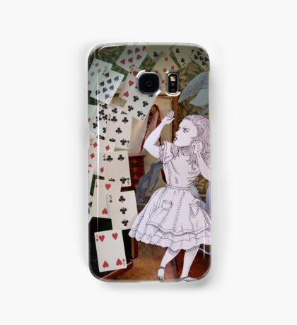 Alice In Wonderland/The Pack of Cards Samsung Galaxy Case/Skin