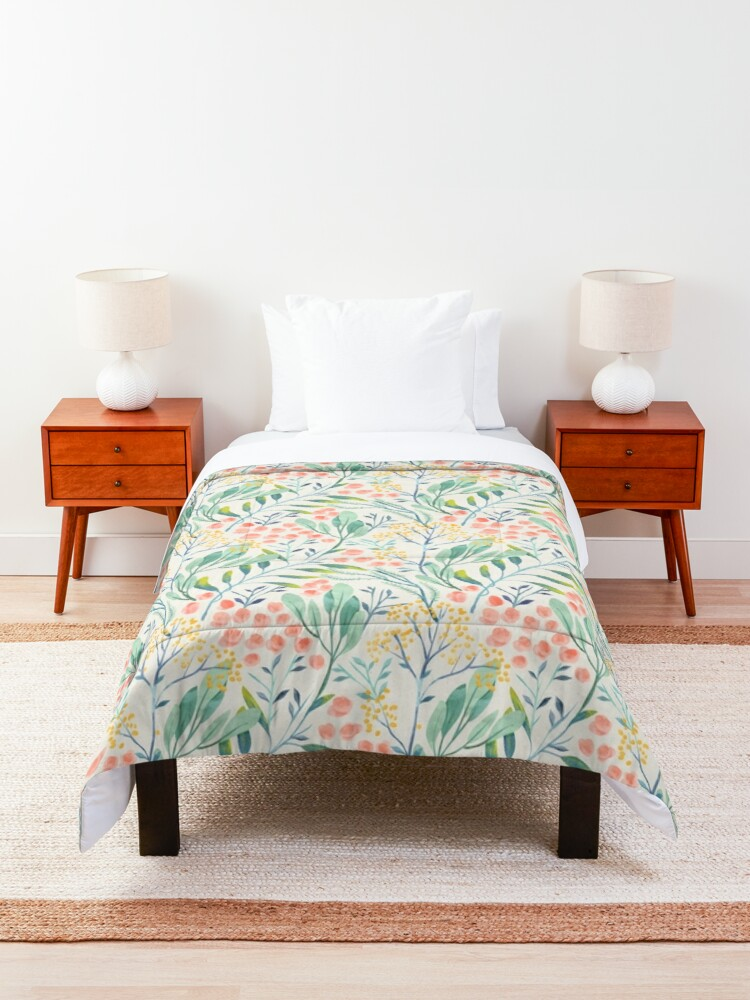 Alternate view of Botanical Garden Comforter