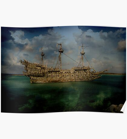 The Flying Dutchmen Poster