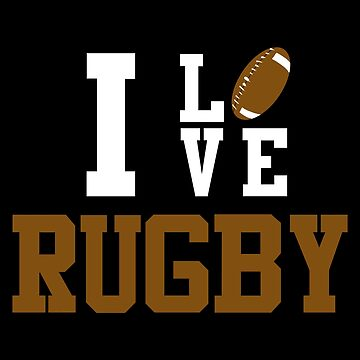 I Love Rugby by lo-qua-t