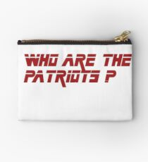 Metal Gear Solid - Who are the patriots? Studio Pouch