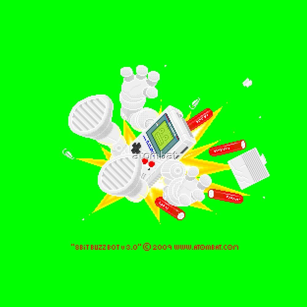 """8 Bit Buzz Bot v3.0.6 """"GameBoid""""  by atombat"""