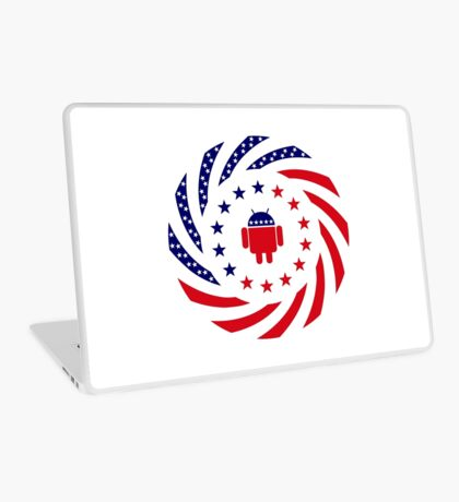 Android Murican Patriot Flag Series Laptop Skin