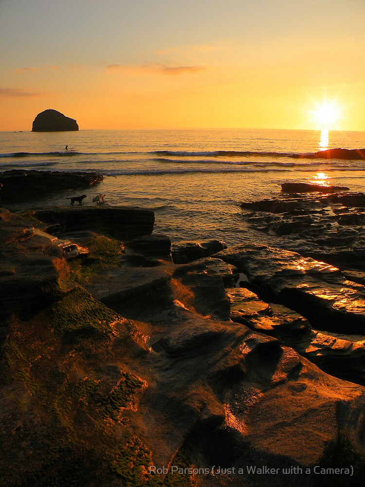 Cornwall: Rocks of Fire by Robert Parsons