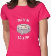 Duct Tape - Problem Solver Fitted T-Shirt