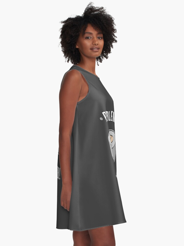 Alternate view of Duct Tape - Problem Solver A-Line Dress