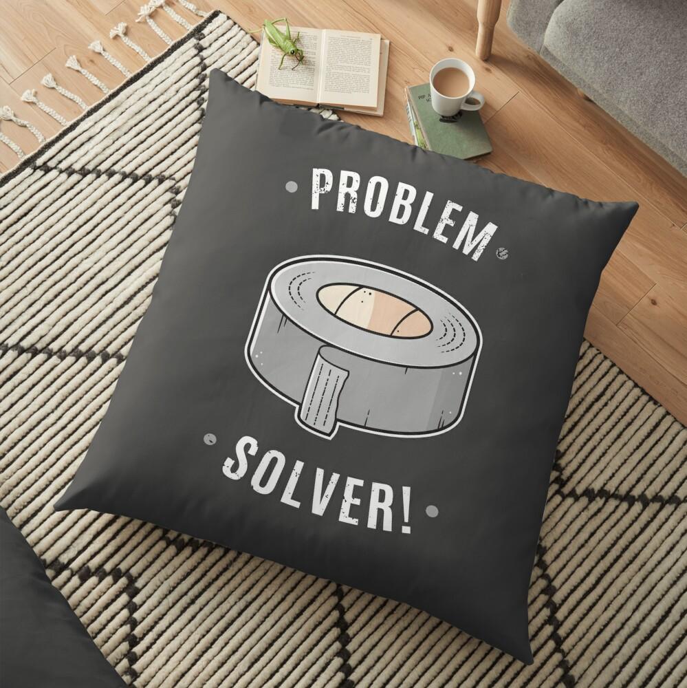 Duct Tape - Problem Solver Floor Pillow