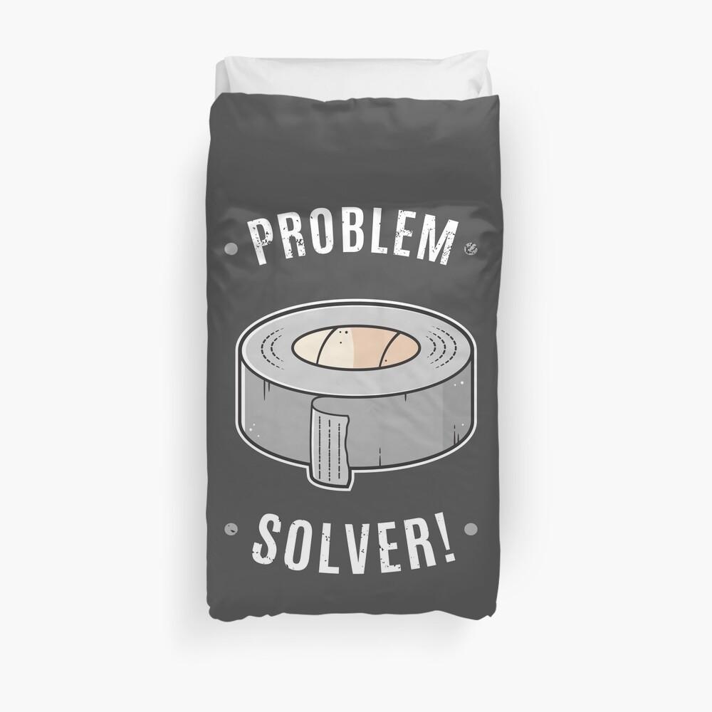 Duct Tape - Problem Solver Duvet Cover