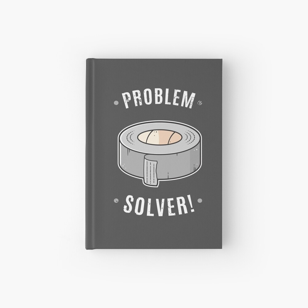 Duct Tape - Problem Solver Hardcover Journal