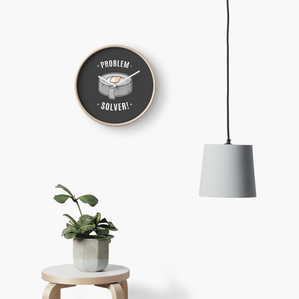 Duct Tape - Problem Solver Clock