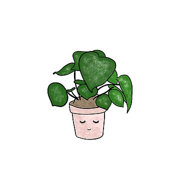 Cute plant in flowerpot by bigmoments