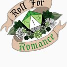 Roll For Romance - Aromantic Pride [Crit Fail] by Sam Spicer