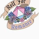 Roll For Romance - Bigender Pride by flailingmuse