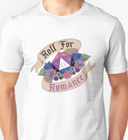 Roll For Romance - Genderfluid Pride T-Shirt